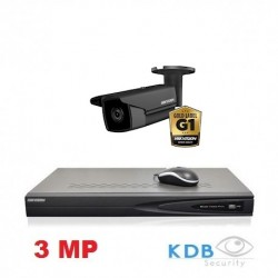 Hikvision IP camerabewaking set 1 dome camera 3 MP
