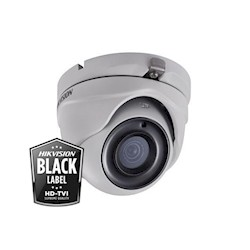 Hikvision 5MP, Low Light, 3.6mm, 20m EXIR, Power over Coax, DS-2CE56H5T-ITME