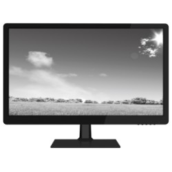 W Box Monitor LED 21.5 Inch 1920 x 1080P Full HD Resolution, VGA, HDMI 2 Built-in Stereo Speakers Warranty 3 years (WBXMP2154)