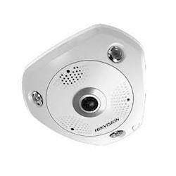 Hikvision 3MP fisheye, WDR, alarm&audio I/O, geschikt voor buitengebruikDS-2CD6332FWD-IVS