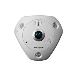 Hikvision 6MP fisheye, alarm&audio I/O, DS-2CD6362F-IS