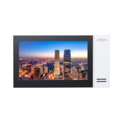 Dahua DHI-VTH2421FW-P monitor voor Video intercom, netwerk bekabeld , sip protocol, PoE, witte uitvoering