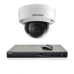 Hikvision IP camerabewaking set 1 dome camera 8 MP