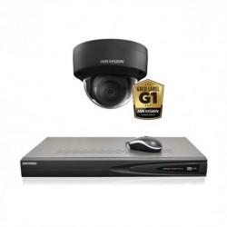 Hikvision IP camerabewaking set 1 dome camera 8 MP