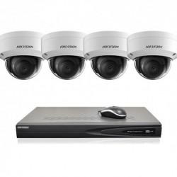 Hikvision IP camerabewaking set 4 EXIR camera's 4 MP