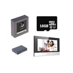 Hikvision IP video intercom set