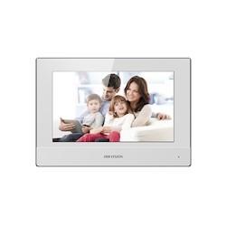 Hikvision DS-KH6320-WTE, 7-inch binnenpost wit