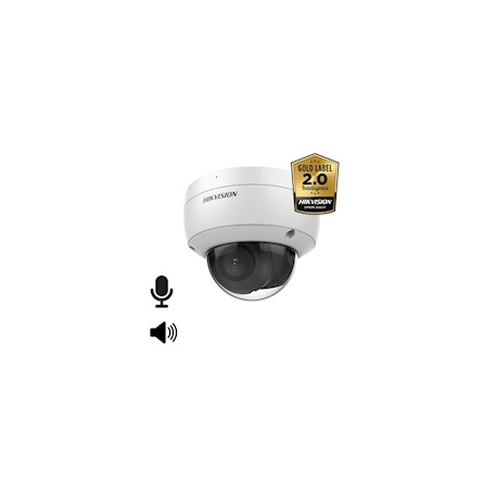 Hikvision DS-2CD2146G2-I AcuSense 4MP Ultra low light WDR dome IR led , 4mm, IP67, IK10