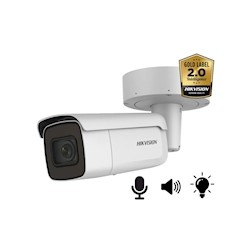 Hikvision DS-2CD2646G2-IZSU/SL AcuSense 4MP, 2.8-12MM, microfoon en speaker, strobe light, 50m IR