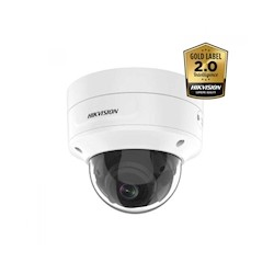 Hikvision DS-2CD2746G2-IZS AcuSense 4MP Ultra low light WDR Dome netwerk camera, 2.8-12mm, IR led , IP67, IK10