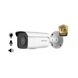 Hikvision DS-2CD2T86G2-ISU/SL, 8MP, 2.8mm, microfoon en speaker, strobe light, 60m IR