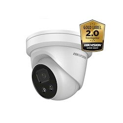 Hikvision DS-2CD2346G2-I AcuSense 4MP Ultra low light WDR Turret dome IR led , 2.8mm IP67