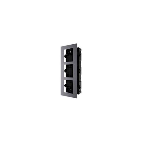 Hikvision DS-KD-AFC3 Inbouwframe, 3 modules,