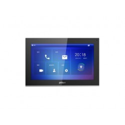 Dahua DHI-VTH5441G monitor 10 inch touch screen 1024 x 600, intern geheugen 8GB SD, SIP, voeding PoE en 12Vdc