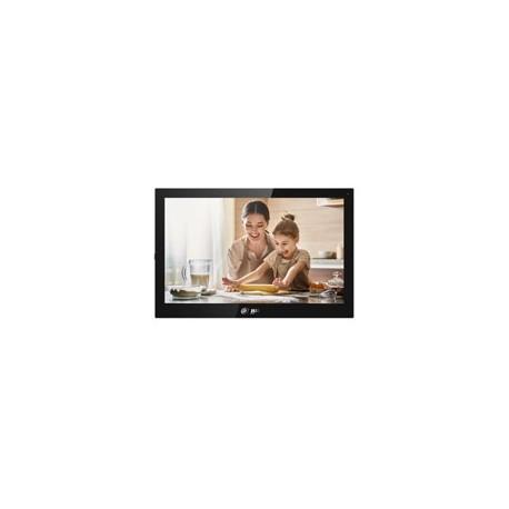 Dahua DHI-VTH5341G-W Android monitor intercom, 10 inch touch screen 1024 x 600, ethernet en Wifi, SIP, voeding PoE en 12Vdc