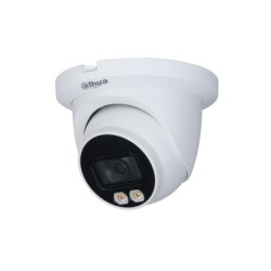 Dahua DH-IPC-HDW3449TMP-AS-LED-0360 WizSense Lite AI series 4MP Full color Turret camera met wit licht 3.6 mm