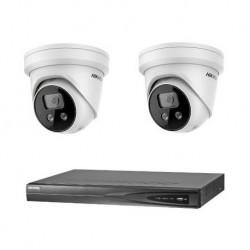 Hikvision IP camerabewaking set 2 EXIR camera's 4 MP