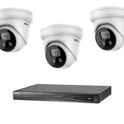 Hikvision IP camerabewaking set 3 EXIR camera's 4 MP