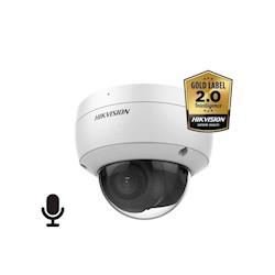 Hikvision DS-2CD2186G2-ISU/SL AcuSense 8MP Ultra low light WDR dome IR led , 2.8mm, IP67, IK10