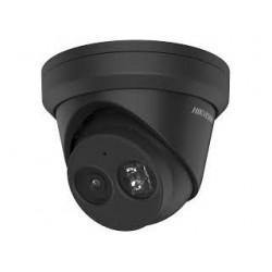 Hikvision DS-2CD2343G2-IU 4MP Acusense WDR Turret Netwerk Camera, IR led, IP67, 2,8 mm, ingebouwde microfoon, zwart