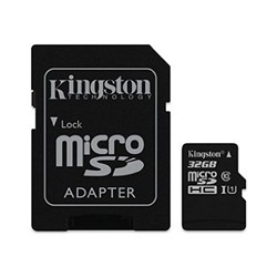 Kingston MicroSD SD 32Go Class10