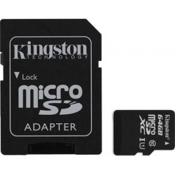 Kingston MicroSD SD 64Go Class10
