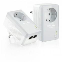 Powerline Adapter 500Mbps set met contactdoos + 2x LAN